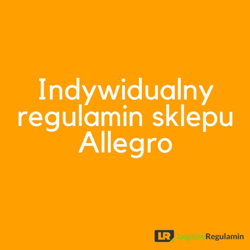 9baab706d0221 Indywidualny regulamin sprzedawcy Allegro